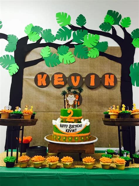 jungle themed birthday images  pinterest
