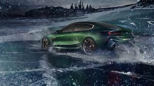 2018 BMW Concept M8 Gran Coupe 4K 8 Wallpaper HD Car