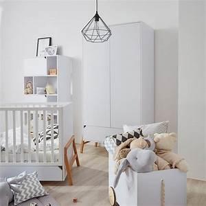 Armoire Bebe Blanche : armoire chambre enfant blanche str m style scandinave jurassien ~ Melissatoandfro.com Idées de Décoration