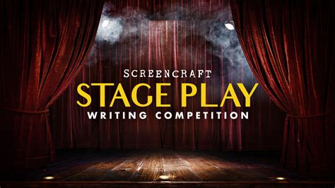 Stage Play - ScreenCraft