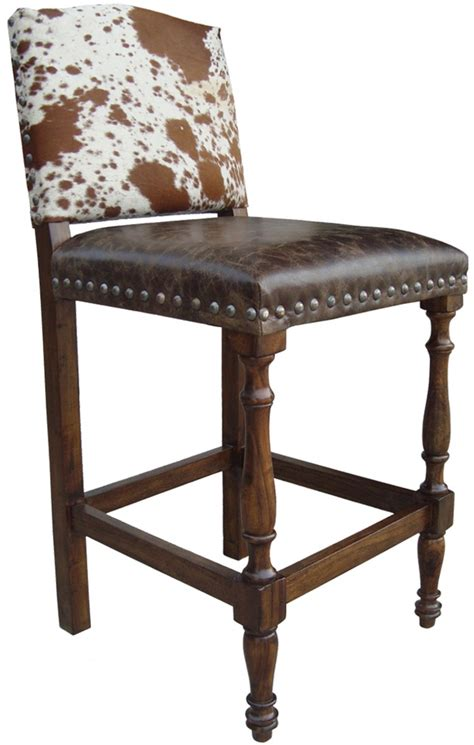 Armchair Bar Stools by Cowhide Chairs Cowhide Bar Stools Cowhide Ottomans