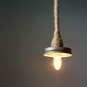 Mason jar pendant lamp kit turn your litdecor