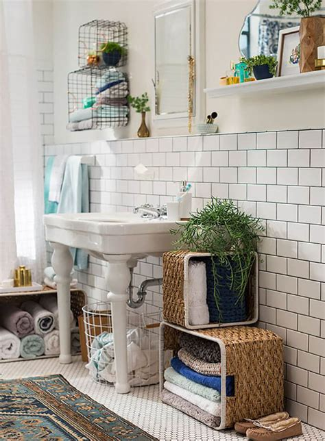 bathroom shower curtain ideas target chapter 9 bohemian bathroom emily henderson