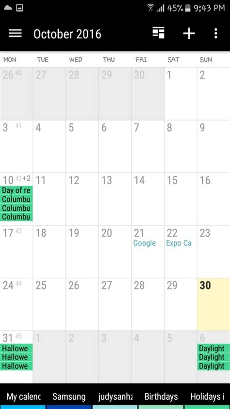 top   calendar apps  android ios  stay  track