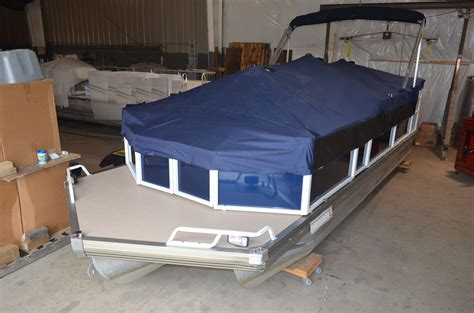 Custom Boat Covers Cost by Pontoon Custom Fit Covers