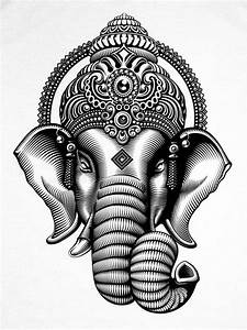 CRYPTIK — GANESHA T-Shirt | White | Tatoo | Pinterest ...