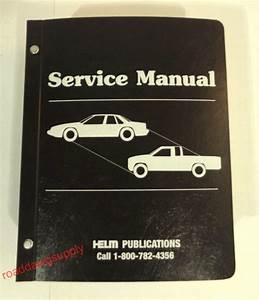 1989 Ford Engine Emissions Service Manual Mustang