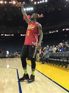 LeBron James Brought His Rookie Sneakers to the NBA Finals ...