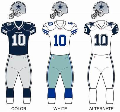 Cowboys Dallas Season Wikipedia Uniforms Silver Uniform