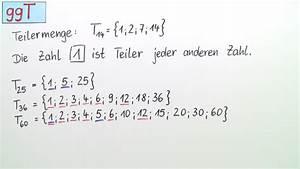 Größter Gemeinsamer Teiler Berechnen : ggt und kgv mathematik online lernen ~ Themetempest.com Abrechnung
