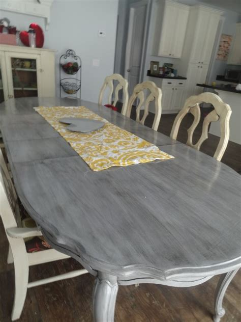 refinish  kitchen table part   mommy style