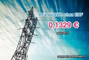 Prix Du Consuel Edf : savez vous quel est le prix du kilowatt heure chez edf lisez a ~ Melissatoandfro.com Idées de Décoration