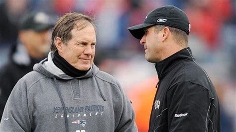 ravens john harbaugh good relationship  bill