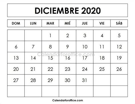 calendario  diciembre  calendar calendar