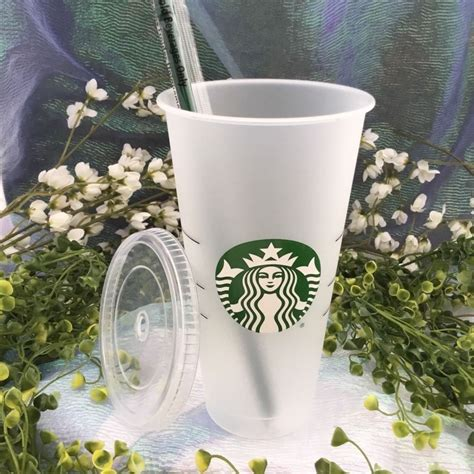 starbucks coffee  cold cup venti reusable recycle