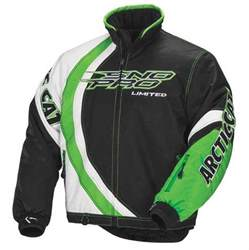arctic cat jackets arctic cat s sno pro limited snowmobile jacket lime