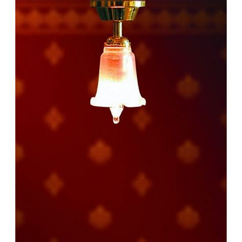 tulips in shade ceiling light with tulip shade lt4005 de037