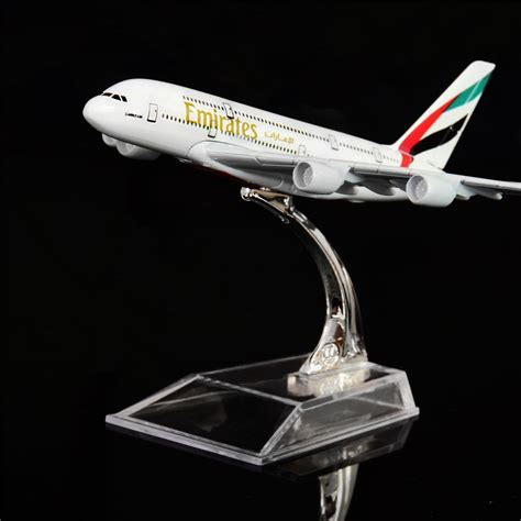 bureau emirates 1 400 16cm the united emirates airbus a380 metal