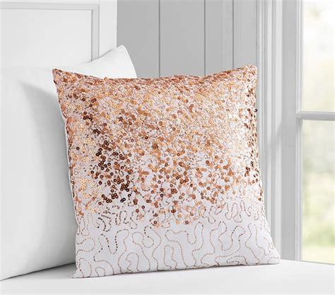 sequin decorative pillow pottery barn kids