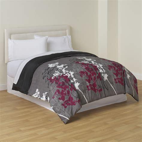 cannon reversible comforter floral print shop your way