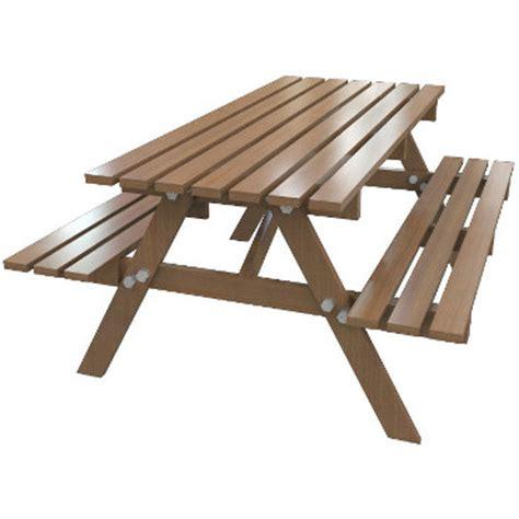 faire soi m 234 me une table de jardin avec banc