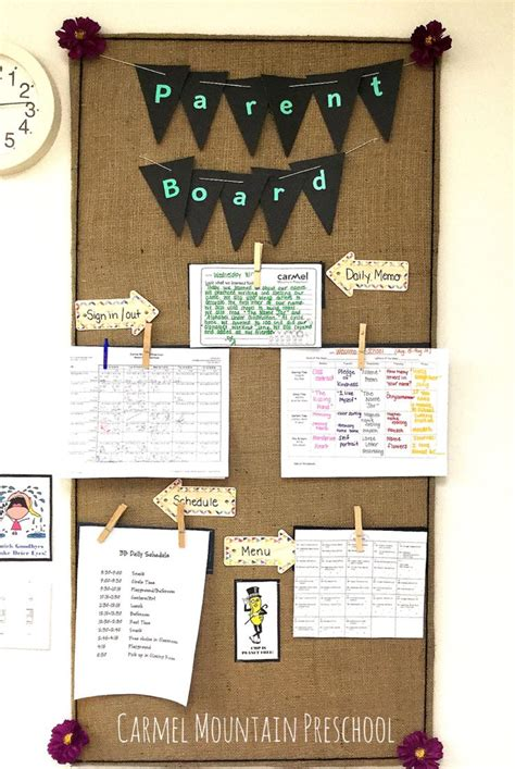preschool parent information bulletin boards the 100 best images about preschool bulletin boards on 662