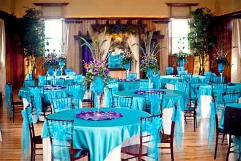 stunning purple and turquoise wedding ideas 19 vis wed