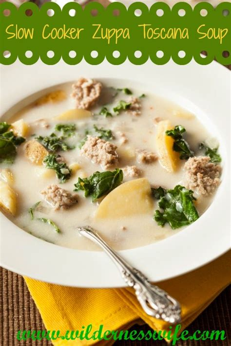 Olive Garden Sausage Soup - cooker olive garden zuppa toscana soup the