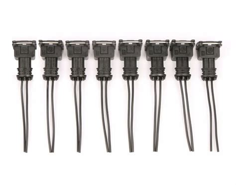 fuel injector connector wiring plugs clips fit ev obd