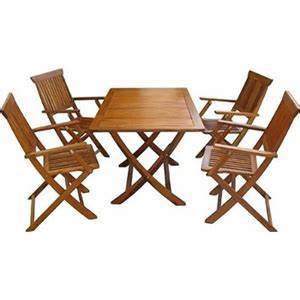 Table De Jardin En Bois Pas Cher : table de jardin en bois pas cher promo salon de jardin reference maison ~ Teatrodelosmanantiales.com Idées de Décoration
