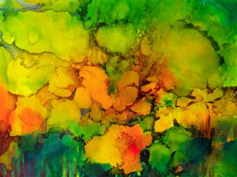 Alcohol Ink-types of Artist Paints