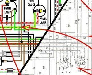 1977 datsun 280z 11 x 17 color wiring diagram datsun