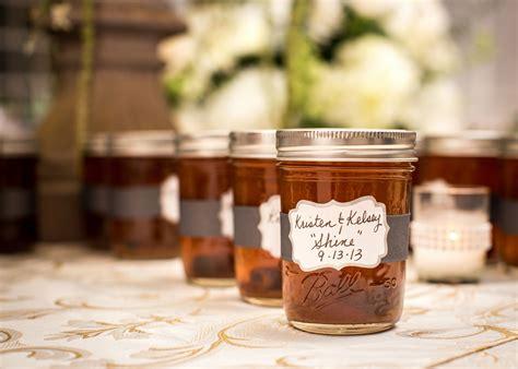 Homemade Moonshine Wedding Favors