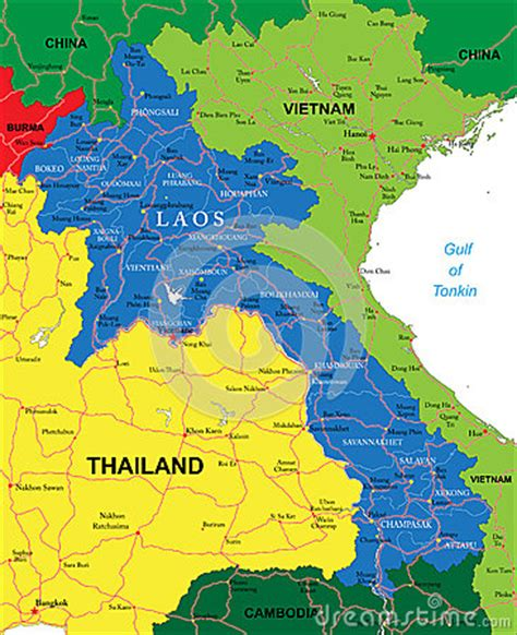laos map stock images image