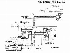 1956 Thunderbird Power Seat Wiring Schematic   44 Wiring