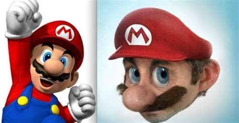 Awesome Gallery Of Realistic Cartoon Characters Top 5