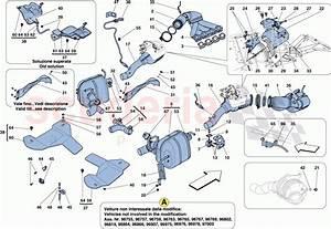 Ferrari 458 Italia Exhaust System Parts