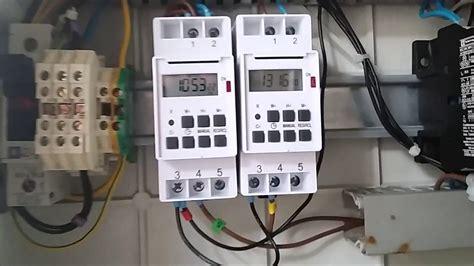 Elec 1 Cablage D'une Armoire électrique Pour Une Fontaine