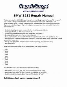 Bmw 328i Repair Manual 1996