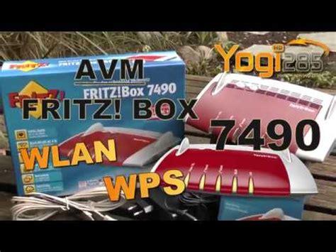 avm fritz box  wlan geraete hinzufuegen  wps