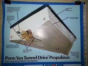 Buy Vintage Penn Yan Boat Tunnel Drive Poster 25 U0026quot  X 18