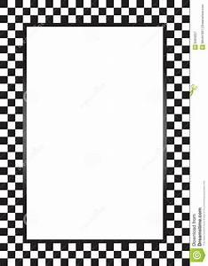 Checkered flag border clipart - Clipart Collection ...