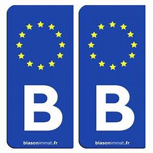 Immatriculation Voiture étrangère En France : plaque d 39 immatriculation et sticker b belgique identifiant europ en ~ Gottalentnigeria.com Avis de Voitures