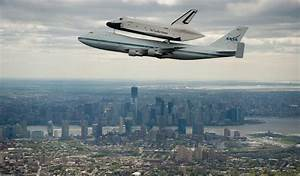Space Shuttle Enterprise Goes to New York