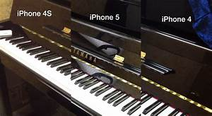 iPhone Cameras Compared iPhone 4, 4S And iPhone 5 (video)
