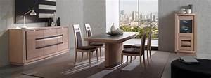 mobilier contemporain meubles bois massif With salle À manger contemporaine avec cuisine haut de gamme