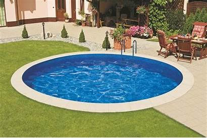 Pool Rund Meter Zwembad Staalwand Stahlwandpool Ibiza