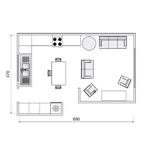 amenager cuisine salon 30m2 plan de cuisine l 39 aménager de 1m2 à 32m2 plan de