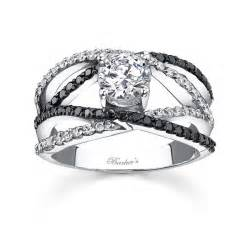 black wedding rings with diamonds black engagement ring pinpoint