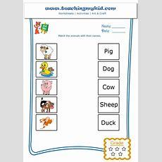Animals Worksheets For Kids Part 1 Worksheet Mogenk Paper Works